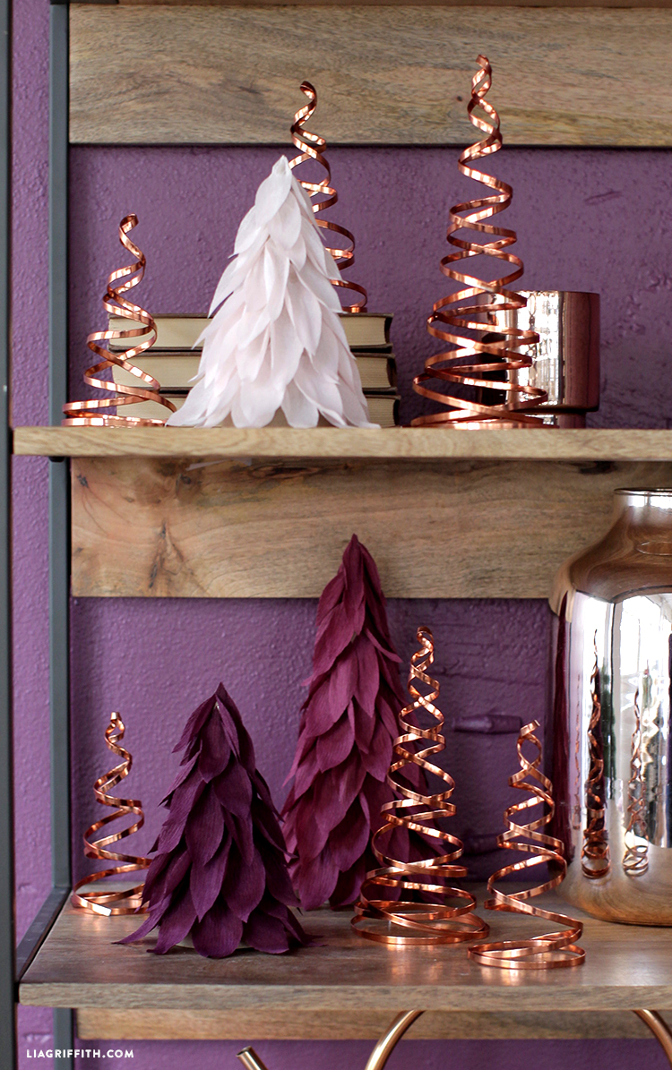 diy copper christmas decor