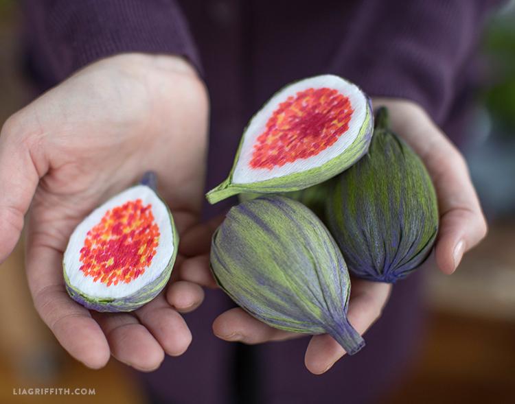 diy paper figs