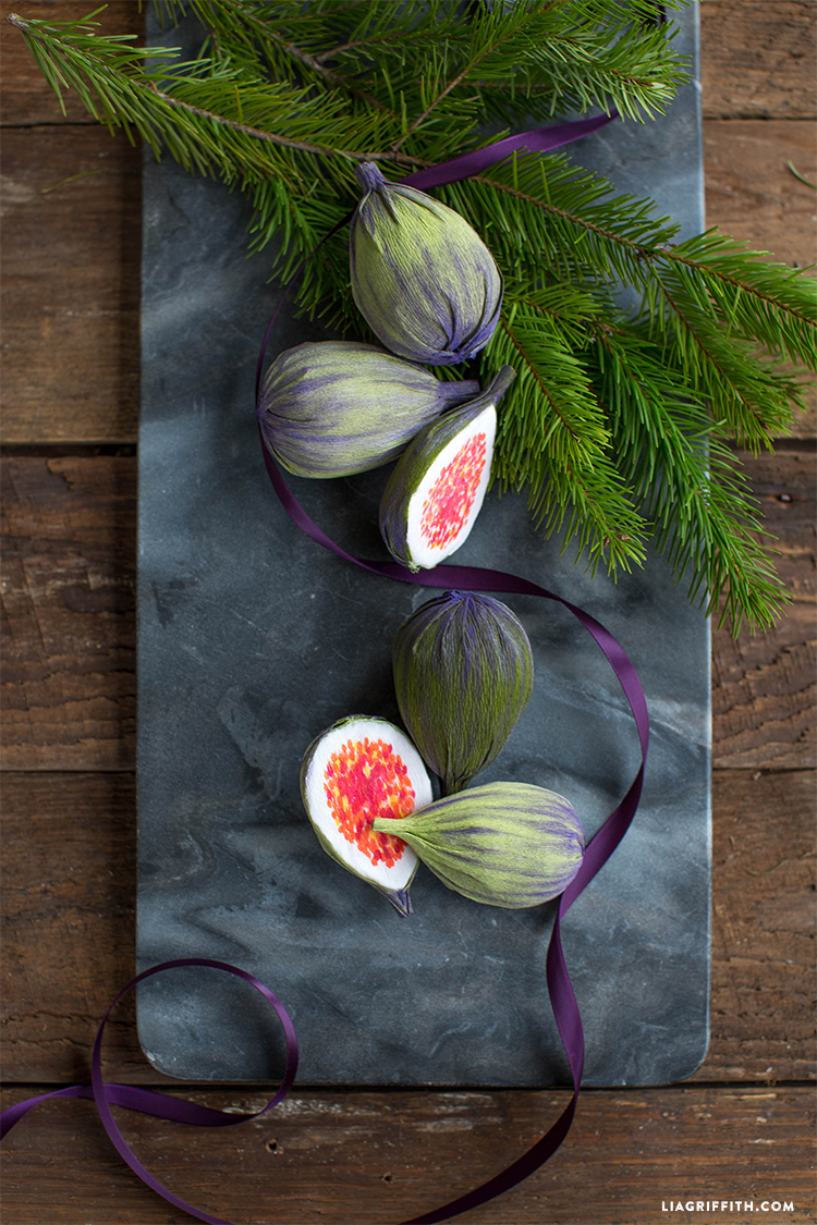 diy christmas figs