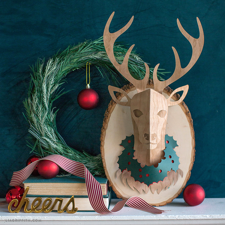 diy paper deer head