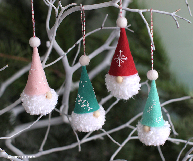 diy tanttu ornaments