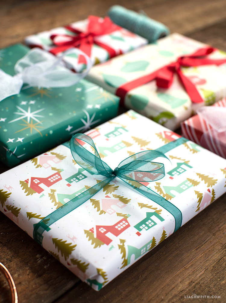 printable christmas wrap
