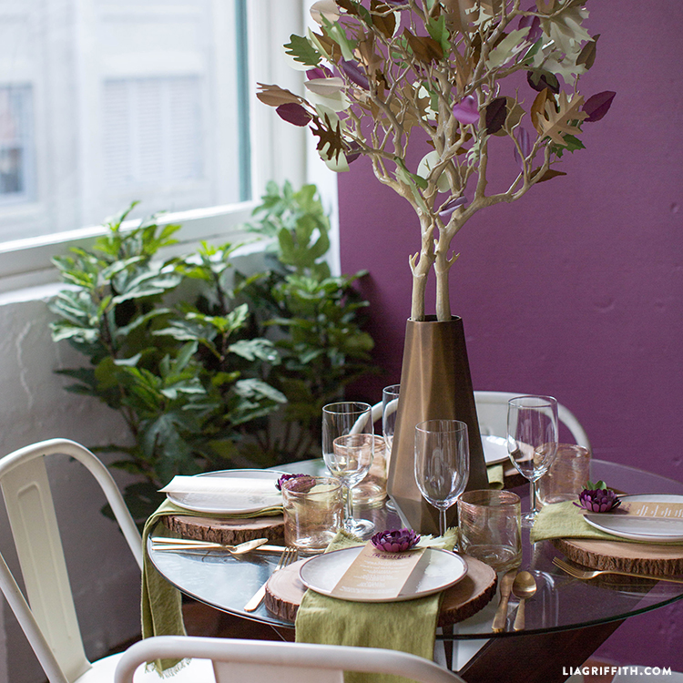 thanksgiving tablescapes rustic