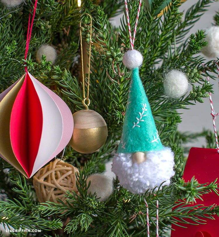 diy gnome ornaments - Gnome Christmas Decorations