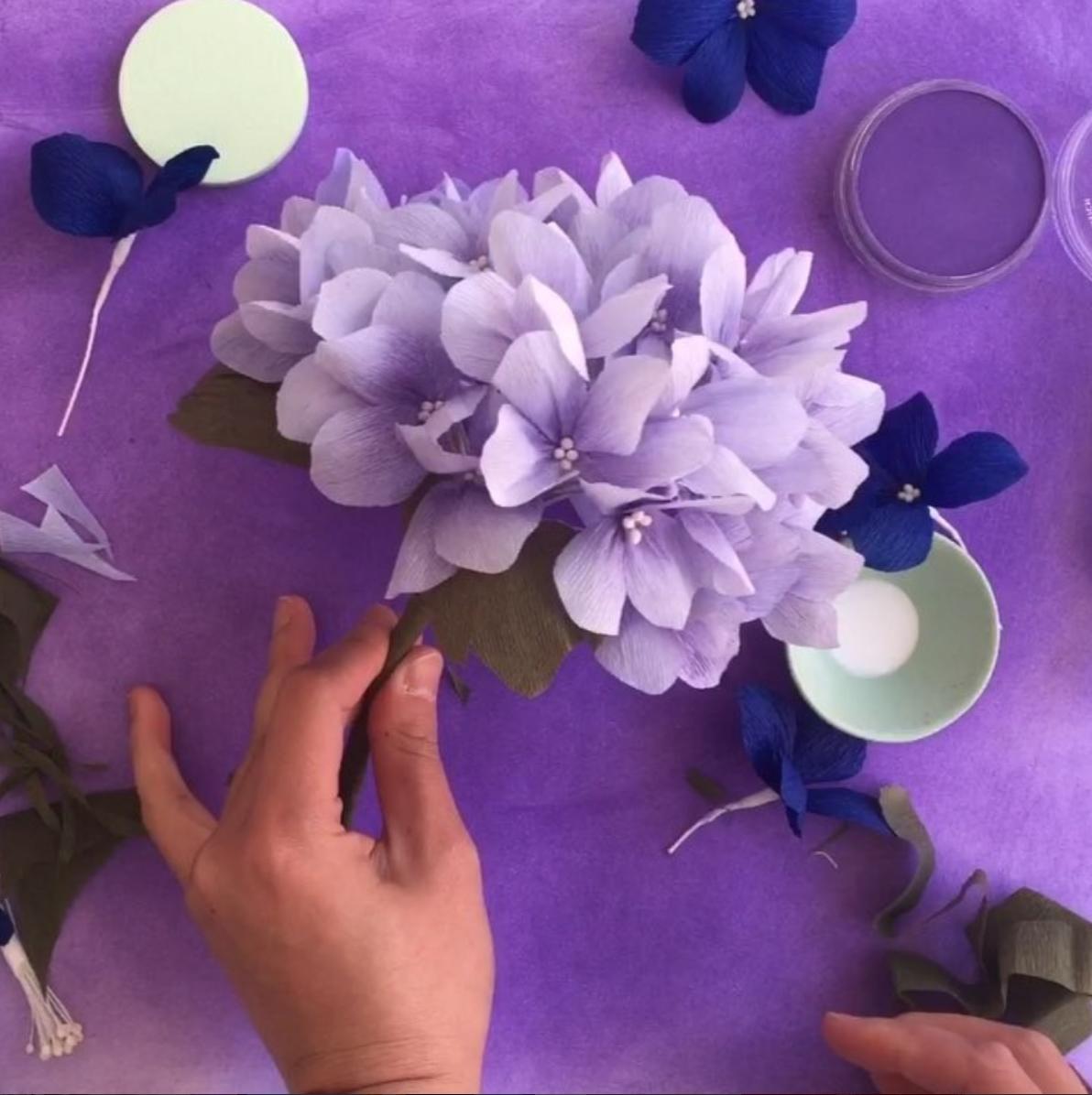 paper flowers papetal