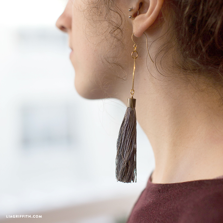 diy earring project