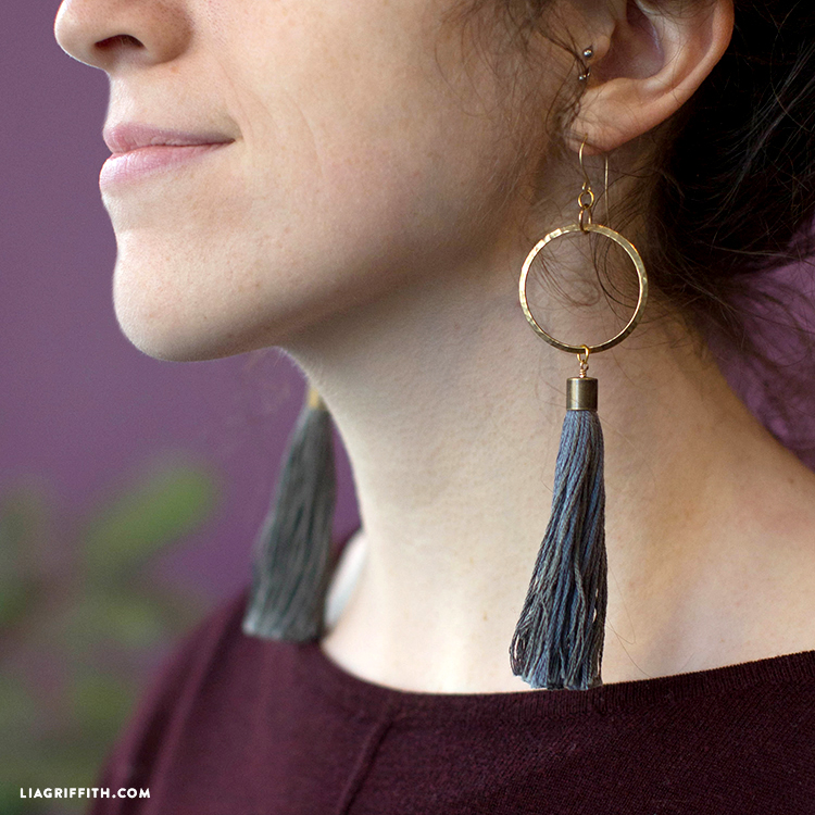 spare diy a apas it tassel earrings pin pair