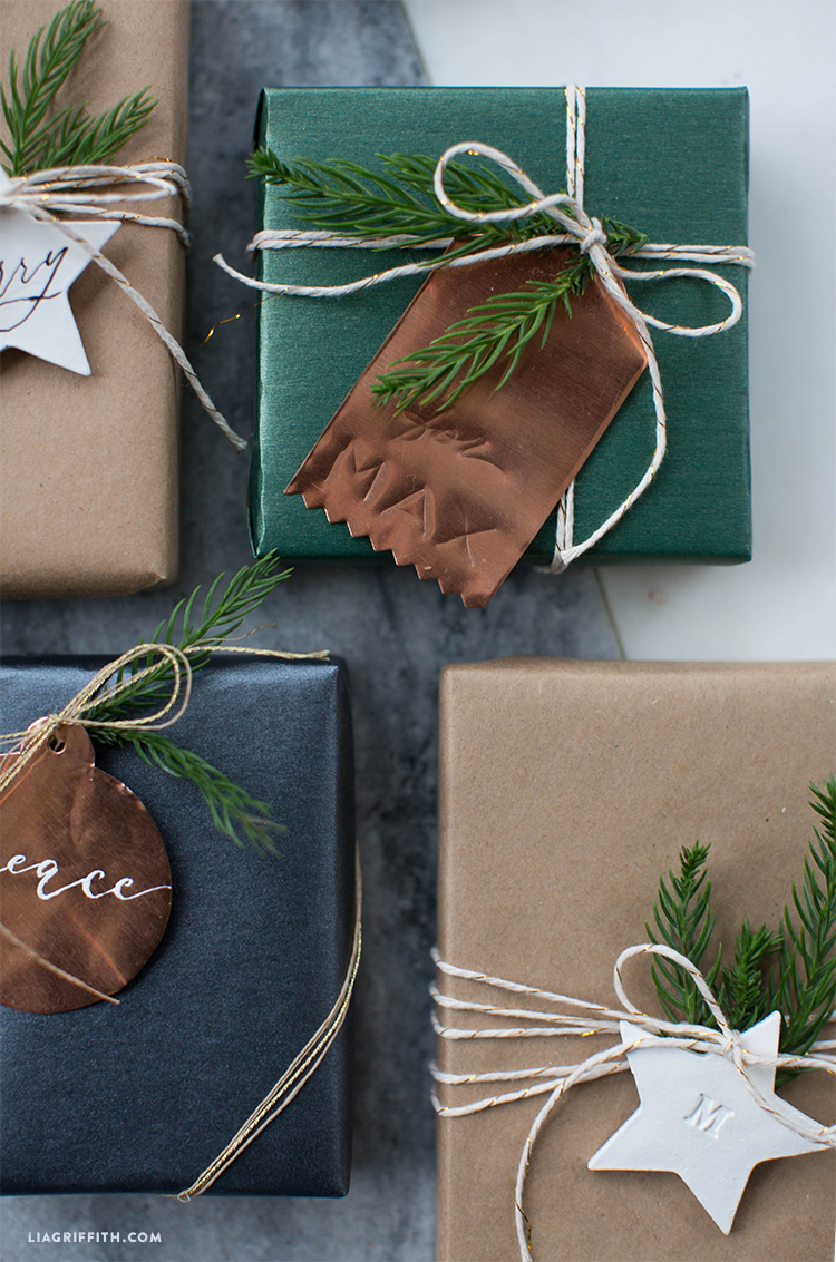 holiday gift wrap inspiration
