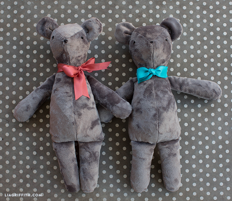 diy teddy bear toy