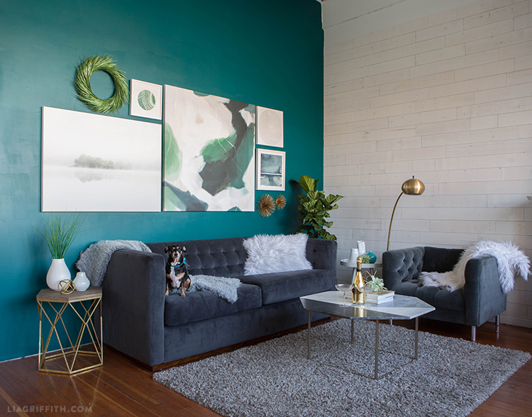 revamp a room with artwork by minted