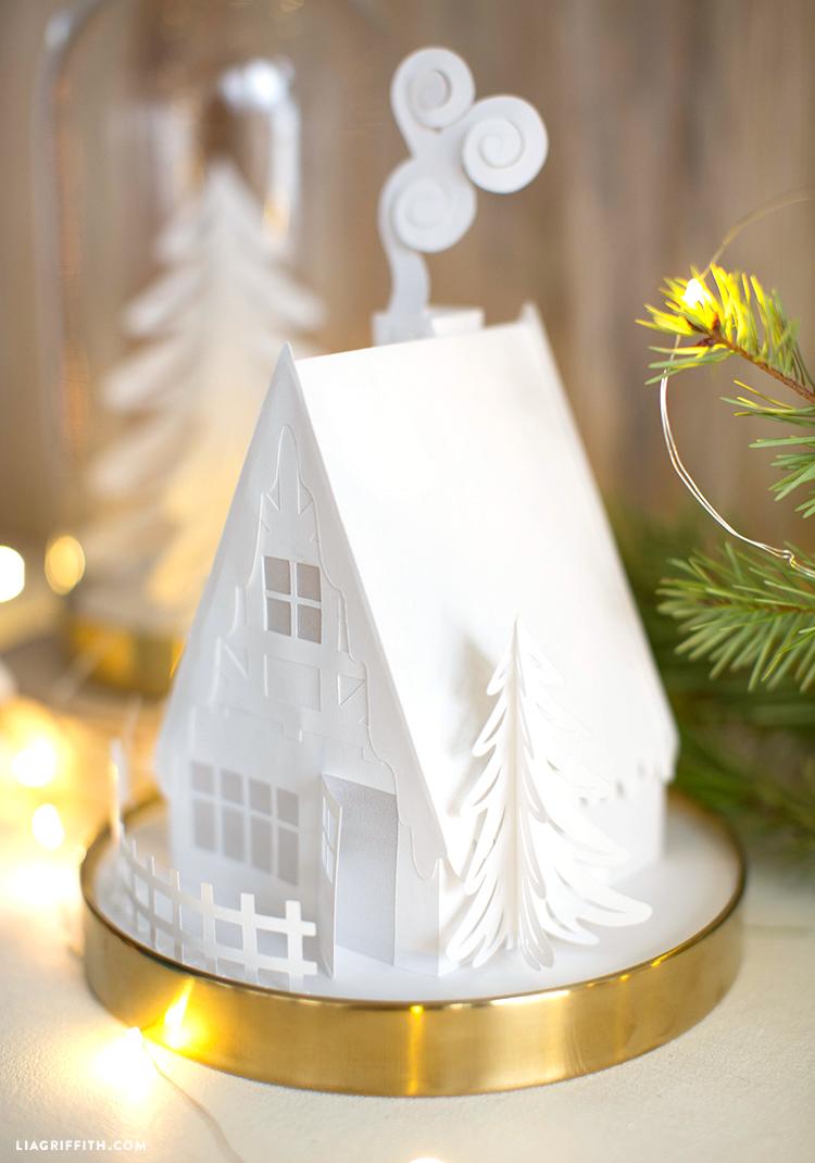 paper cottage diy
