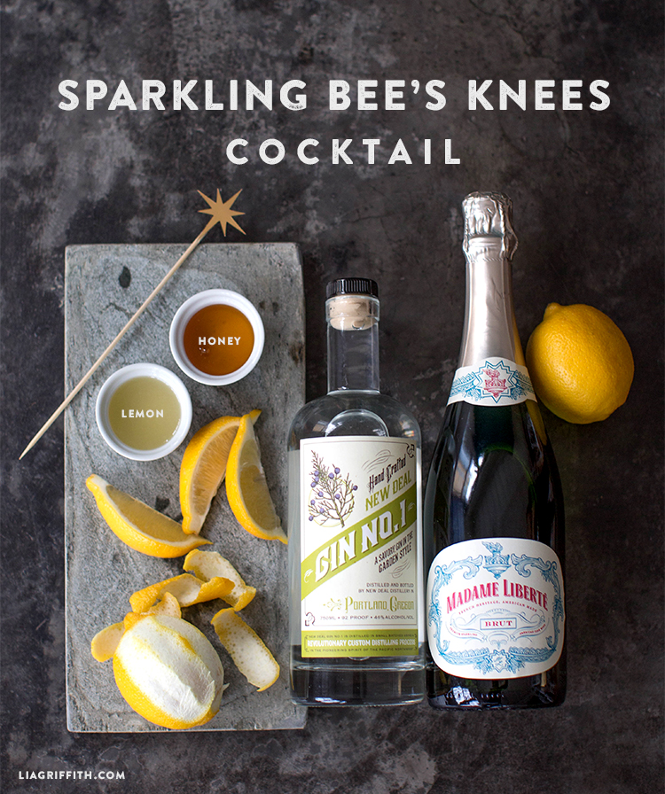 diy new year's cocktail