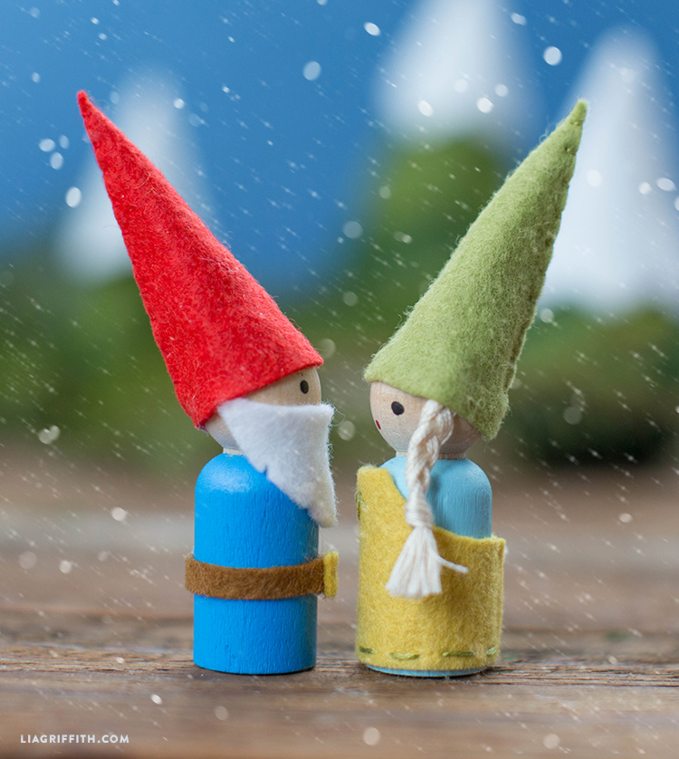 diy whimsical gnomes