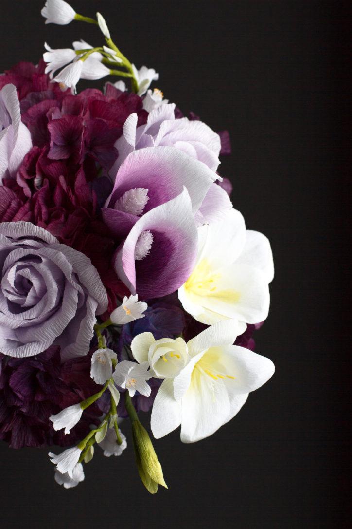 paper flower artist Quynh Nguyen