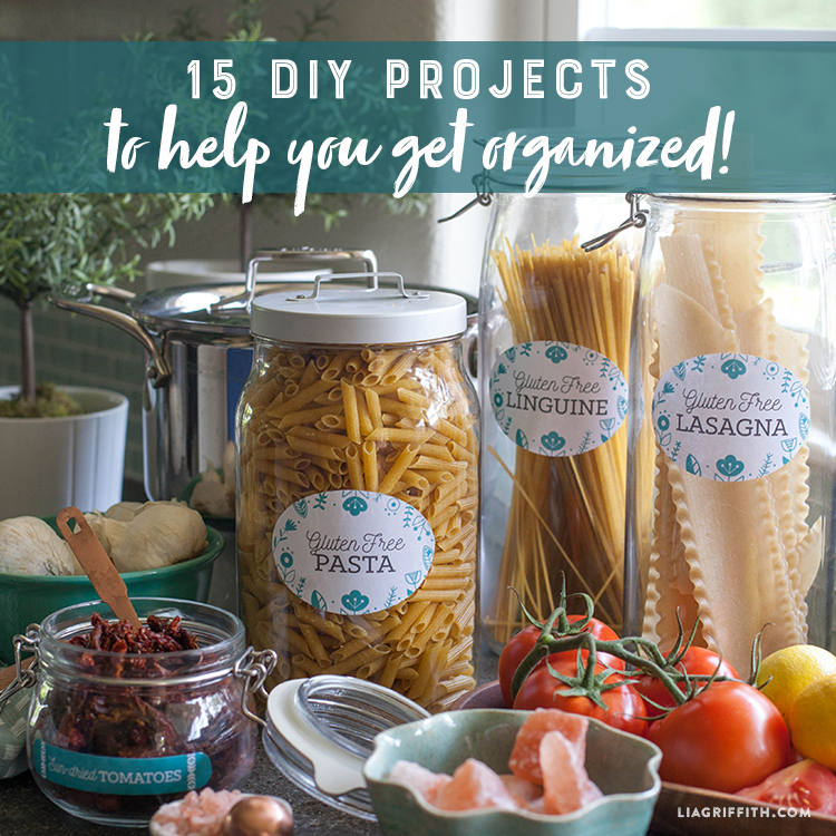 15 DIY Projects To Help You Get Organized