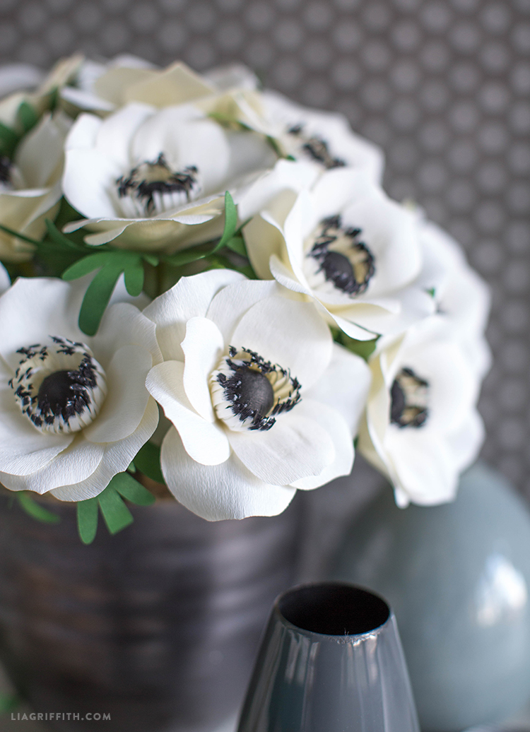 diy anemone flower