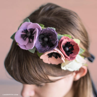 Video Tutorial: Felt Flower Crown