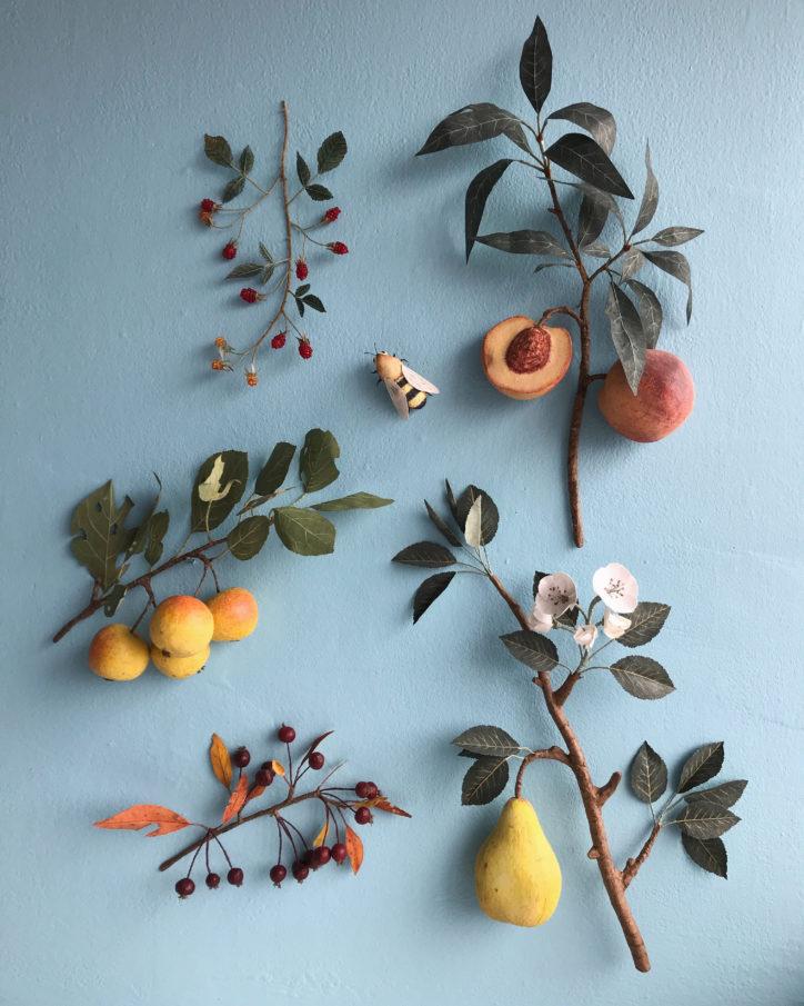 Meet paper flower artist Ann Wood of Woodlucker