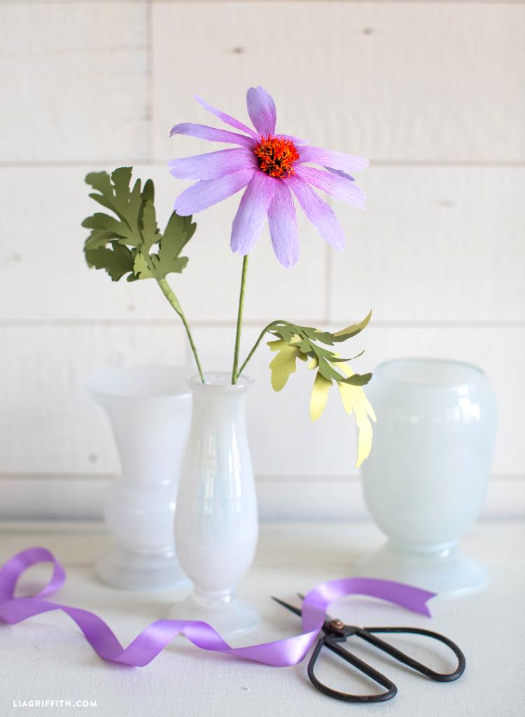 crepe echinacea flower