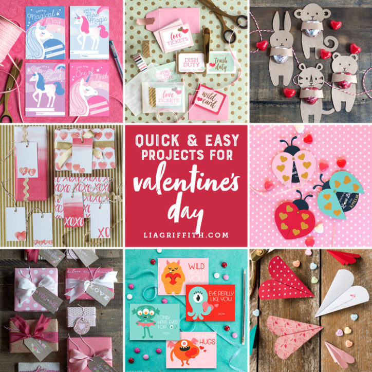 Quick and Easy Valentines Projects