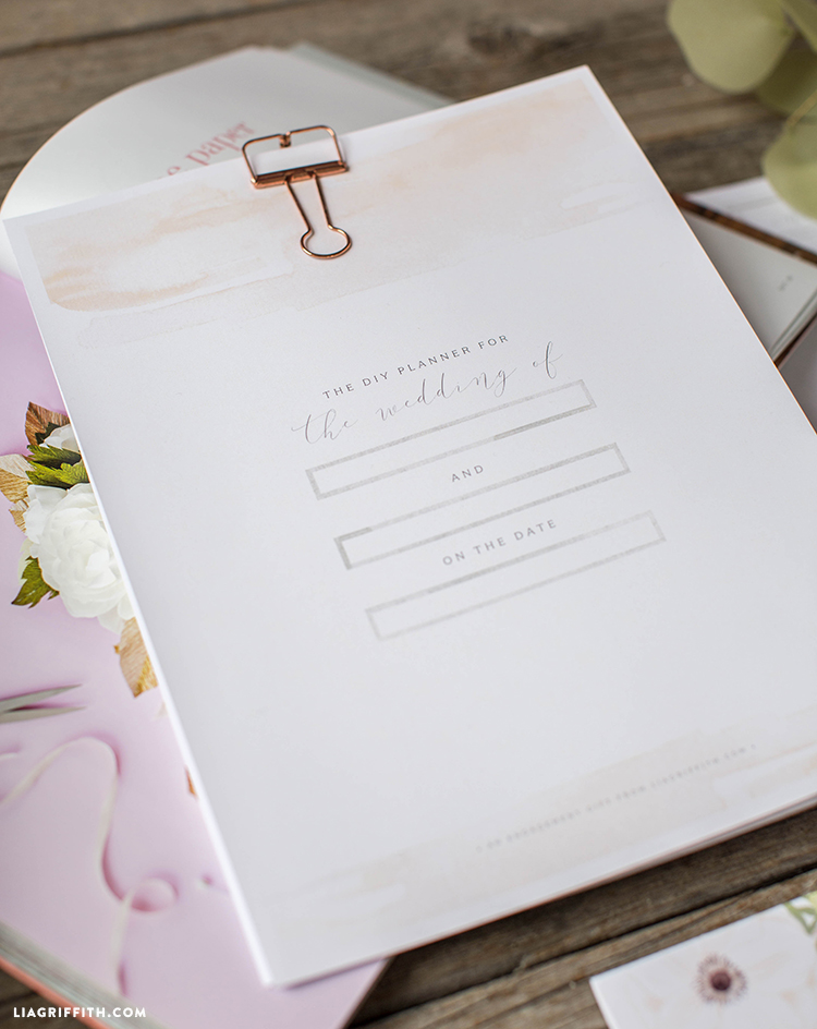 photo regarding Printable Wedding Planner referred to as Down load a charming printable marriage ceremony planner towards application your