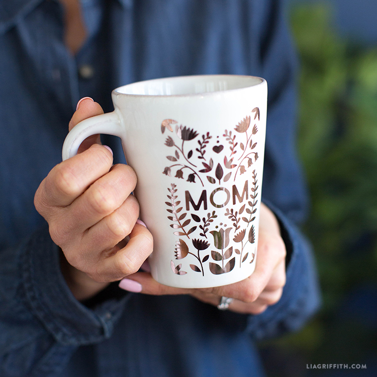 Mom mug decal
