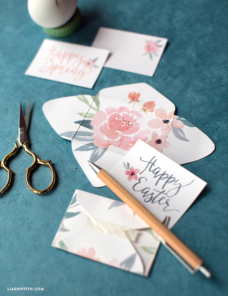 mini easter notes
