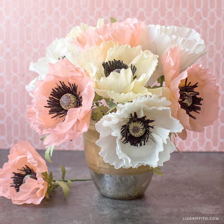 paper oriental poppy