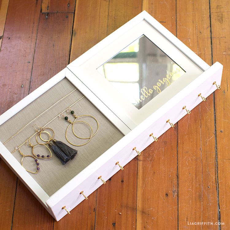 DIY Jewelry Holder - Lia Griffith
