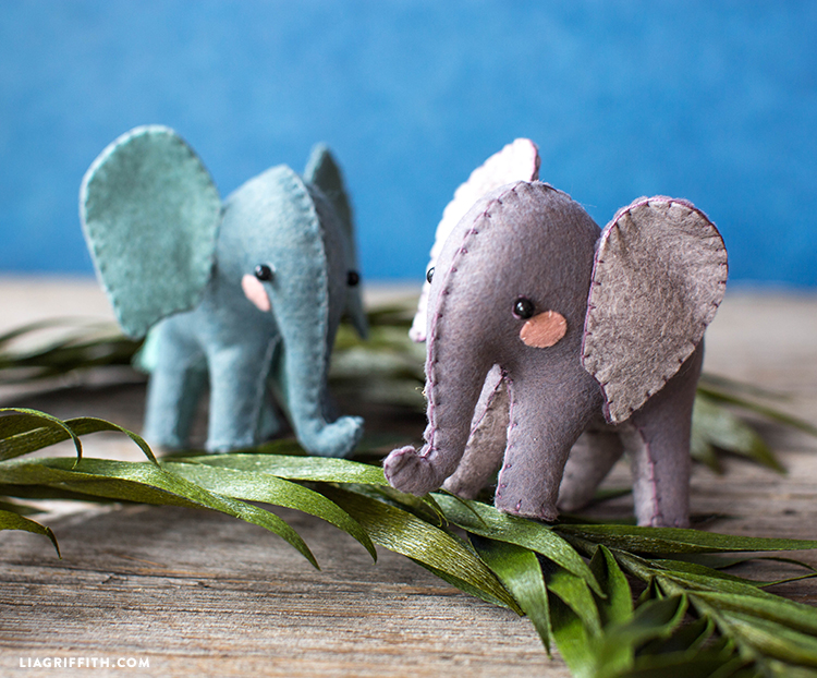stuffed elephants