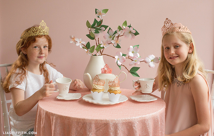 tea party crowns