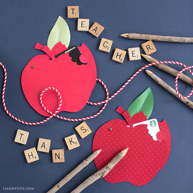 Make a papercut apple gift card holder to say thanks to your teacher papercut apple gift card holder a is for apple negle Choice Image