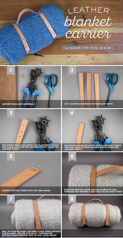 blanket carrier tutorial