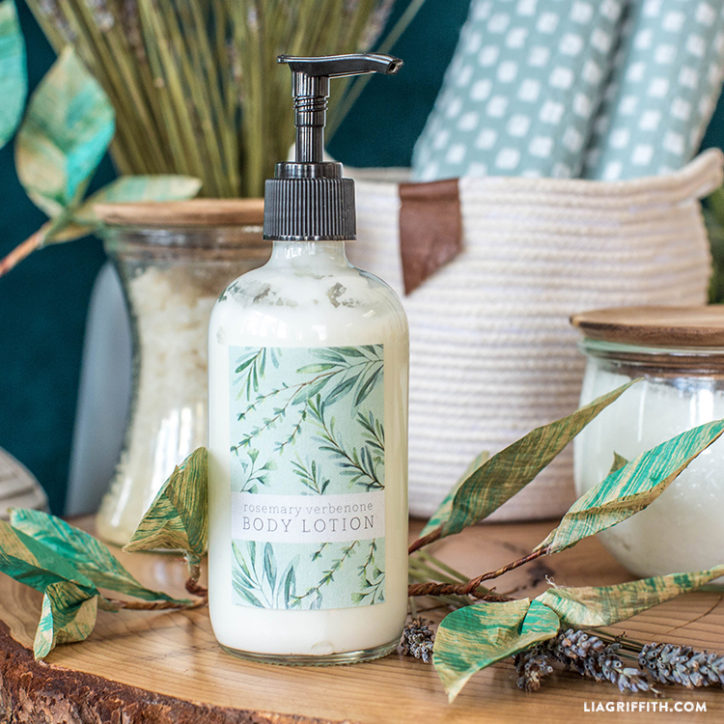 Rosemary Scented Body Lotion