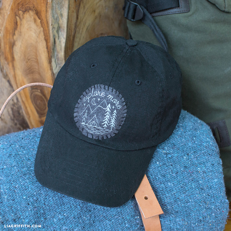 father's day ball cap iron-on