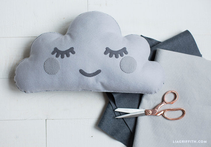 Felt Cloud Pillow