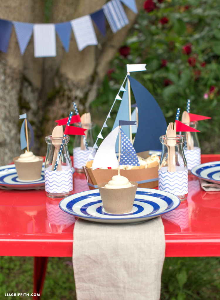 Nautical 4th of July Crafts