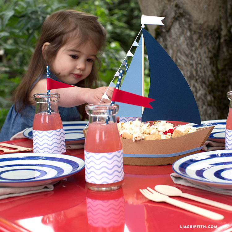 Sailboat 4th of July Crafts
