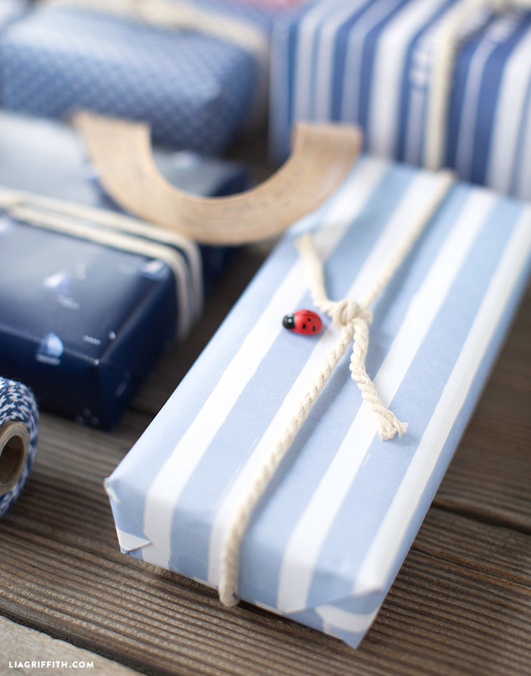 Chambray Gift Wrap