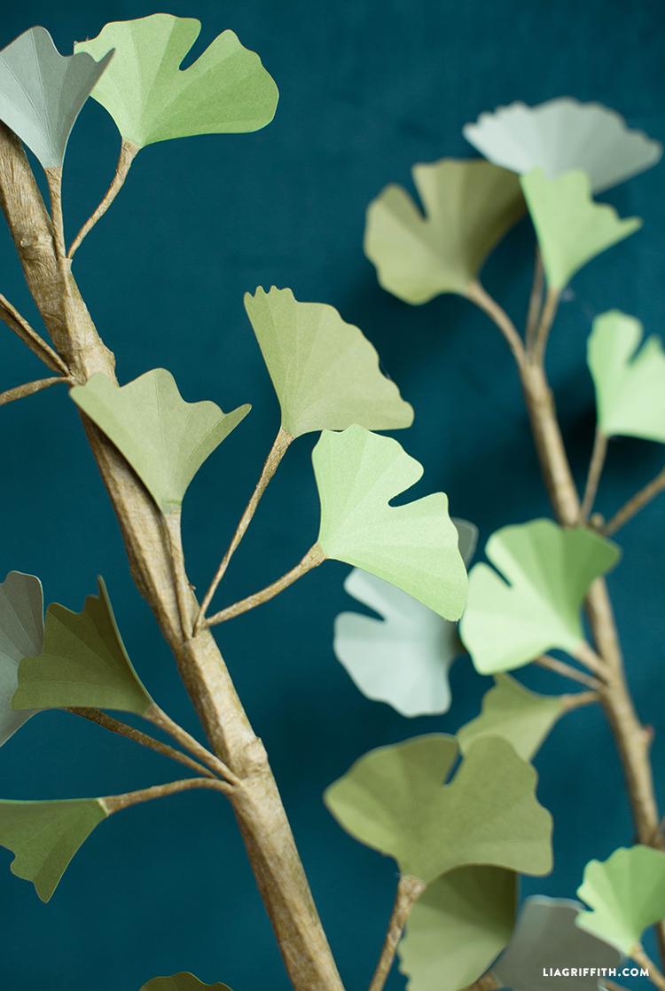 paper ginkgo branch
