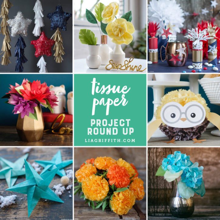 Easy To Make And Versatile Tissue Paper Crafts Round Up