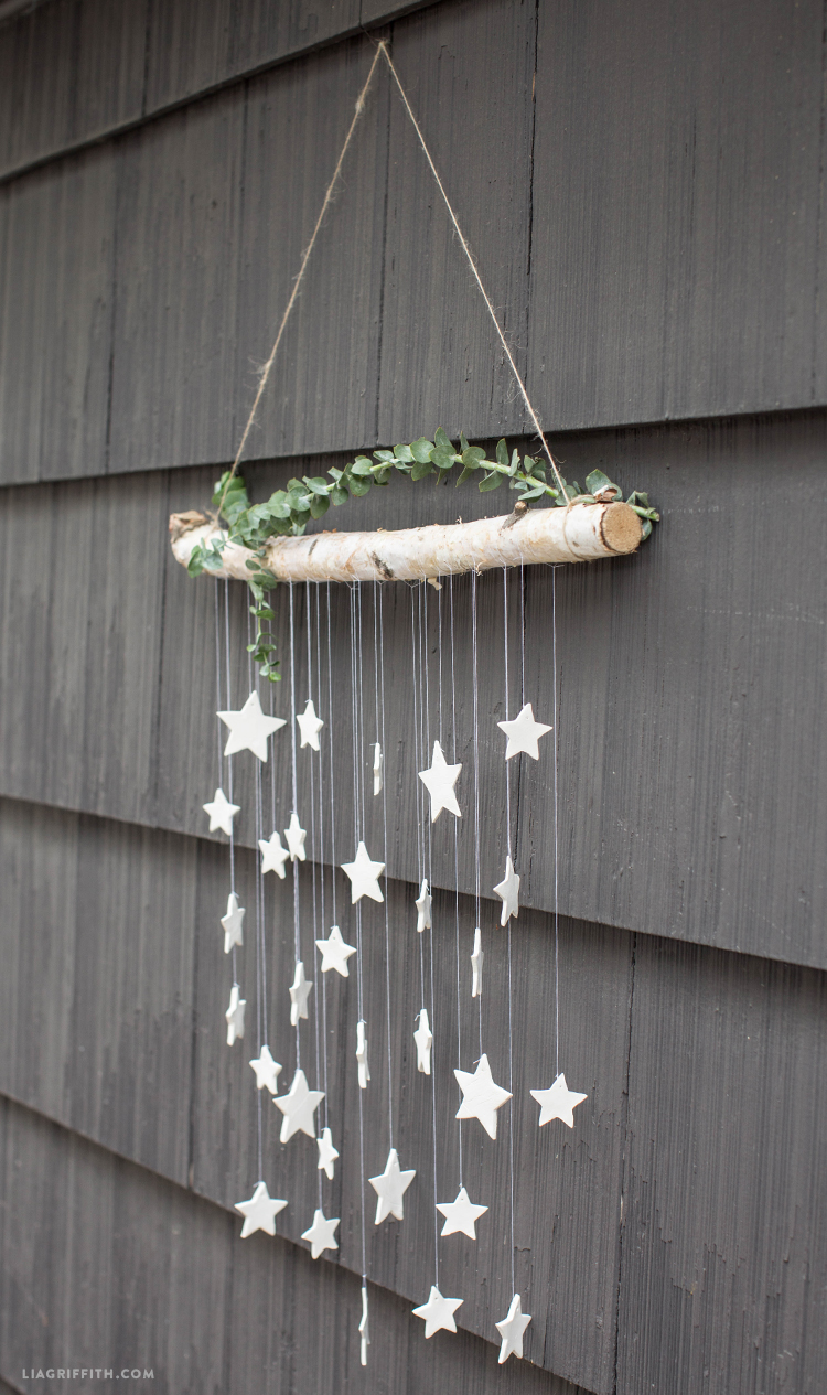 DIY Wall Decor Clay Stars Hanging