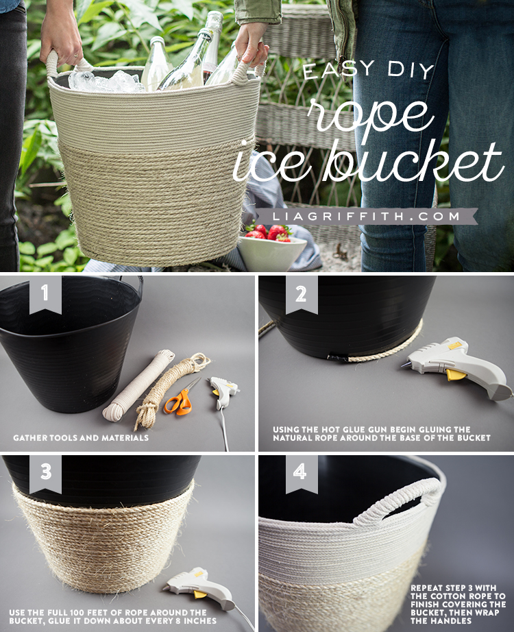 Rope Ice Bucket Infographic