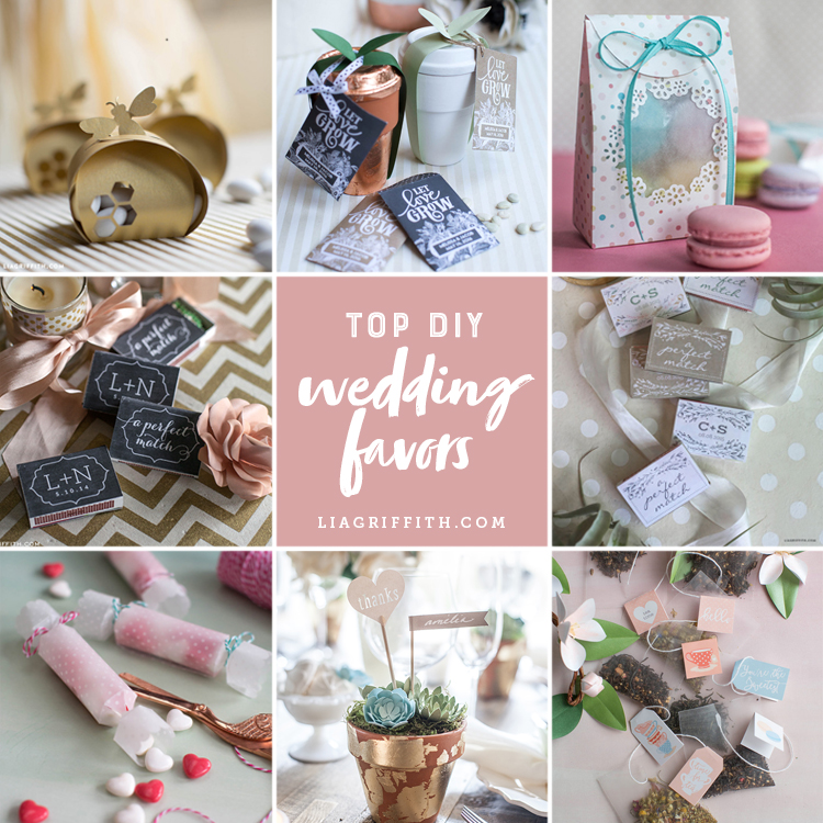Diy Your Big Day With These Crafty Wedding Party Favors