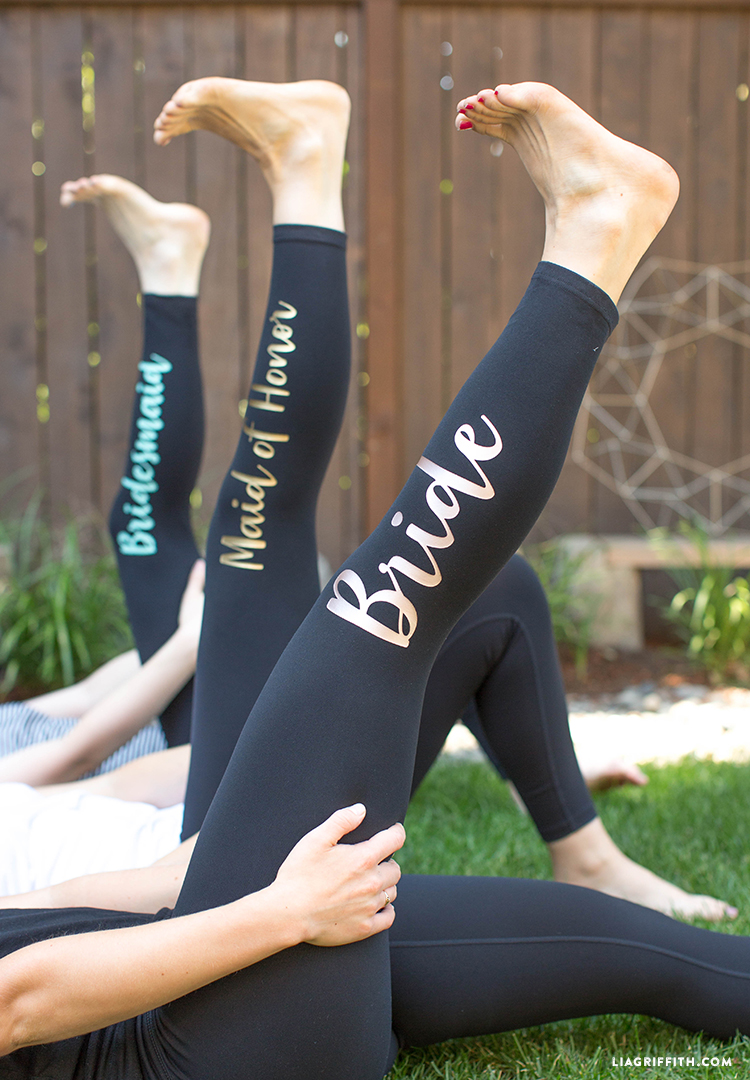 bridal party gifts leggings