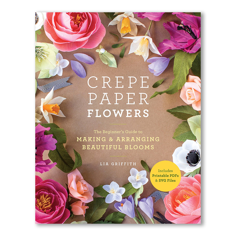 Crepe paper flowers lia griffith love it shop books crepe paper flowers mightylinksfo
