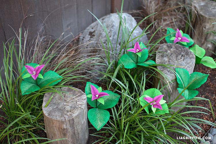 DIY Trillium Flower