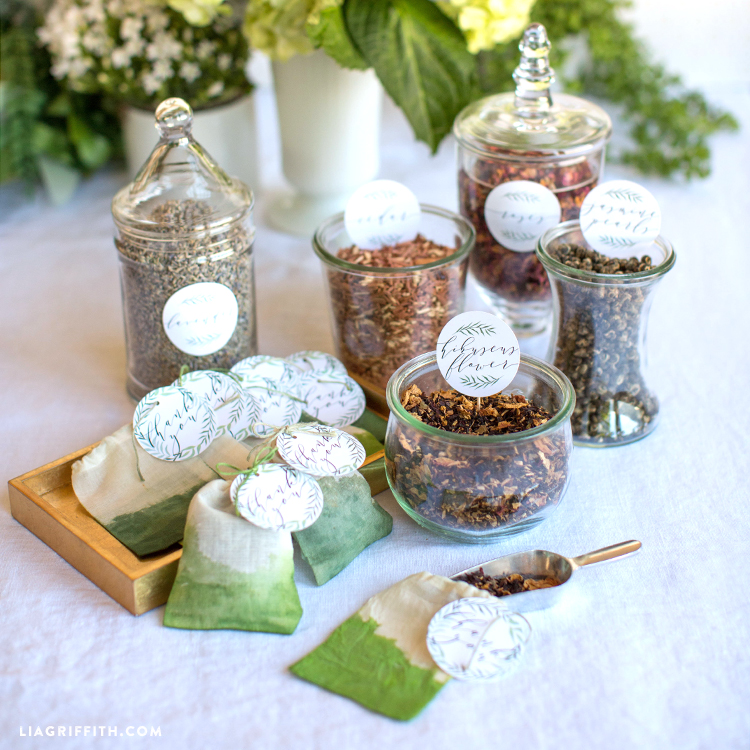 Get Your Guests Involved With These Easy Herbal Sachet Wedding Favors