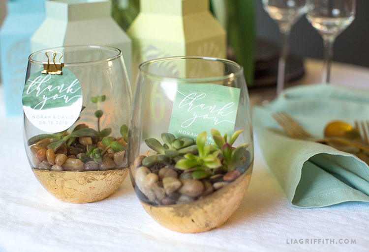 easy diy wedding favors