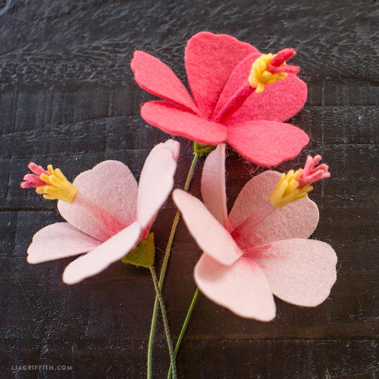 Hibiscus Flower (Felt)